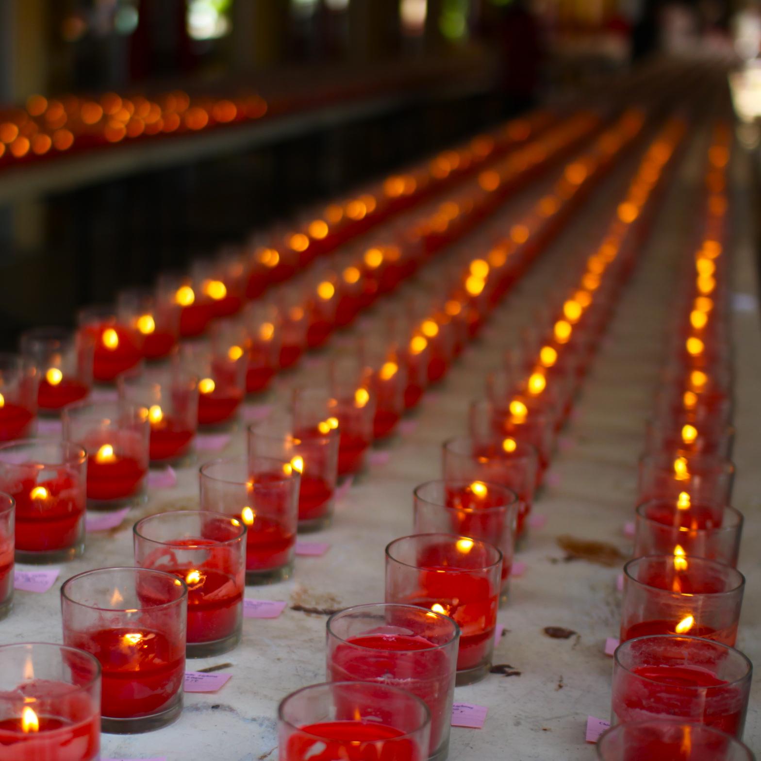 ペナン ダーミカラマ ビルマ寺院にて/ Dharmikarama Burmese Temple in Penang