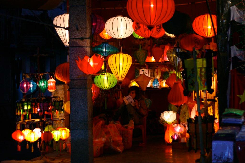 ベトナム ホイアンの町並み ランタン lantern hoian in vientam