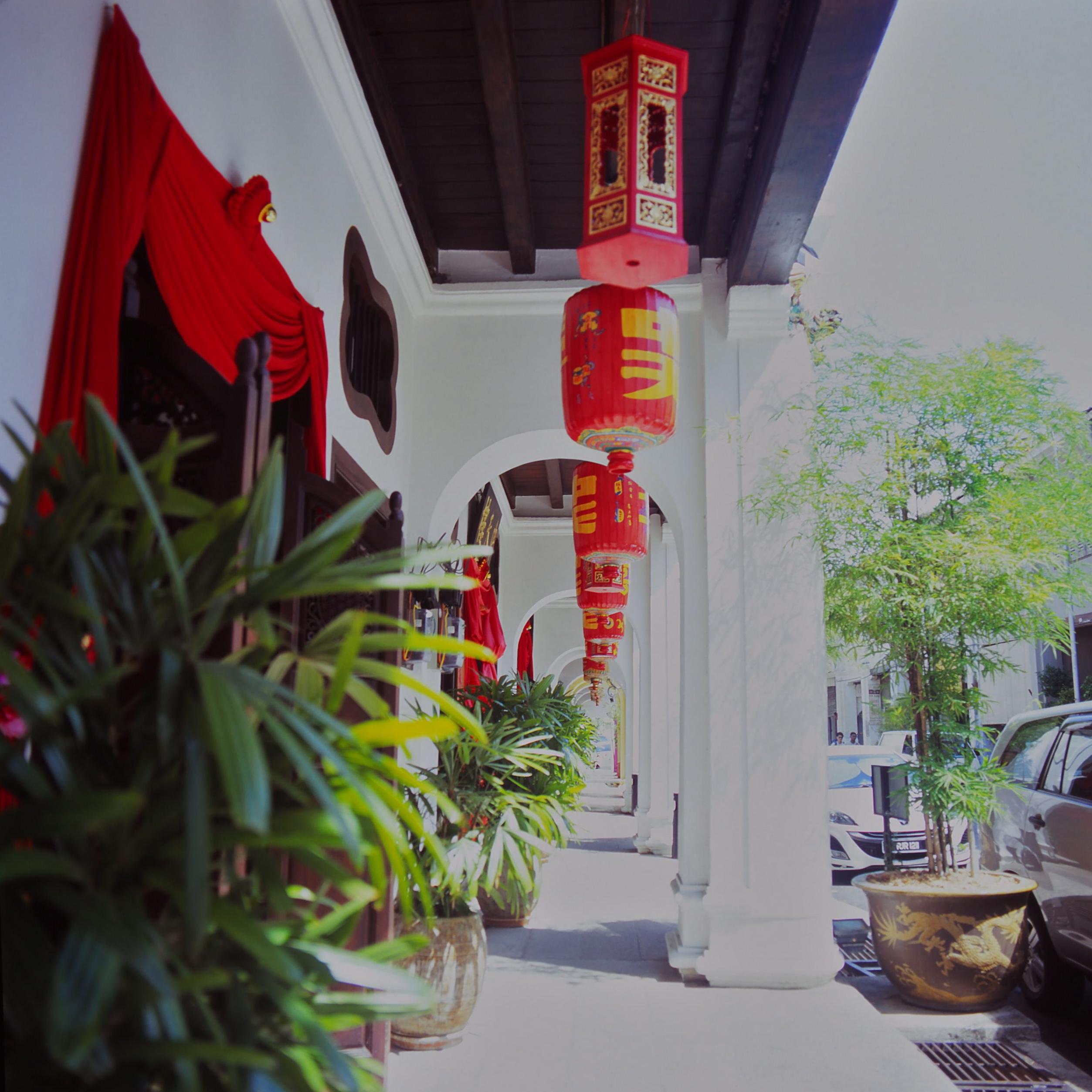 中天ホテル ペナンのショップハウス penang shophouse