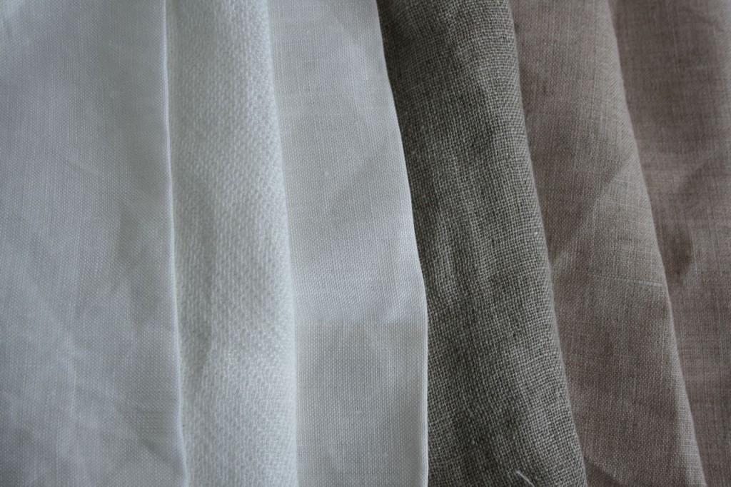 リネンのいろいろ / linen fabric we use.