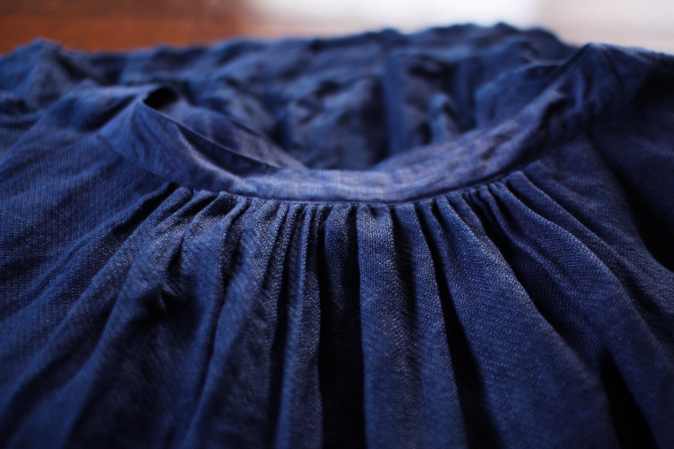 2015 Spring/Summer リネンダブルガーゼブラウス Linen double-gauze blouse(B-1503)