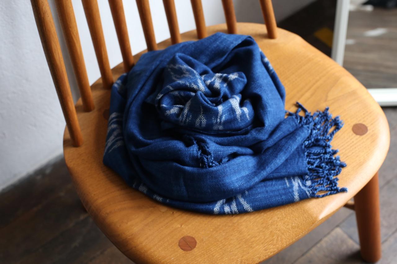 タイの手紡ぎ手織りストール