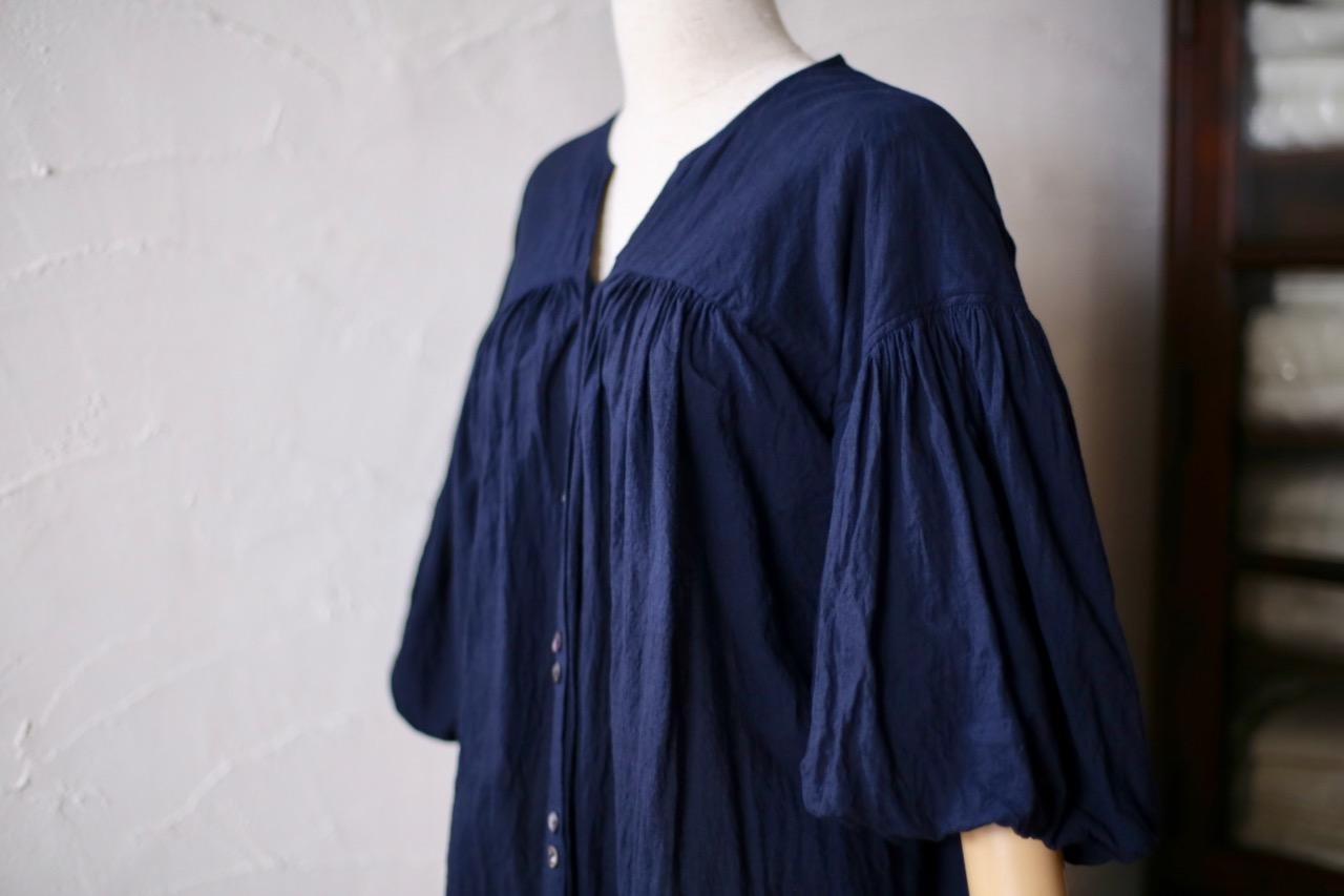 バルーン袖のコート