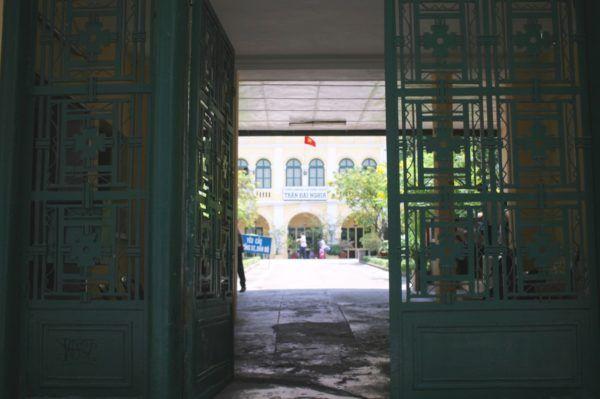 """Local high school """"Trường THPT chuyên Trần Đại Nghĩa"""""""