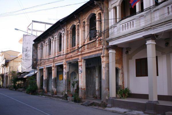 街並み Savannakhet, Laos