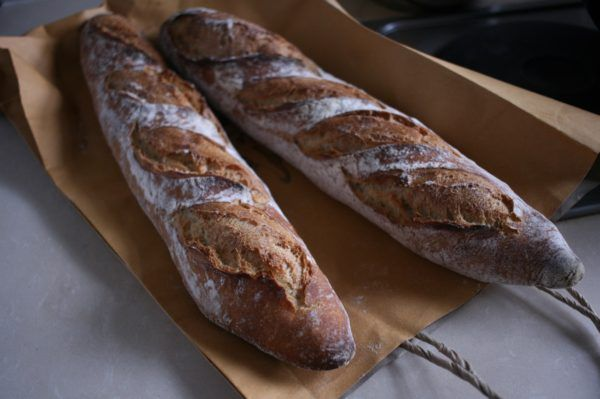 Whole wheat baguette 全粒粉のバゲット